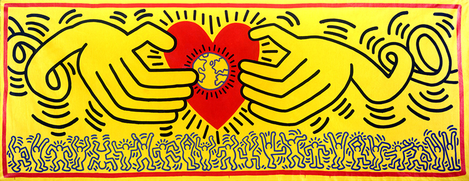 La Nave Salinas host Keith Haring exhibition