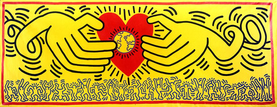 La Nave Salinas host Keith Haring exhibition